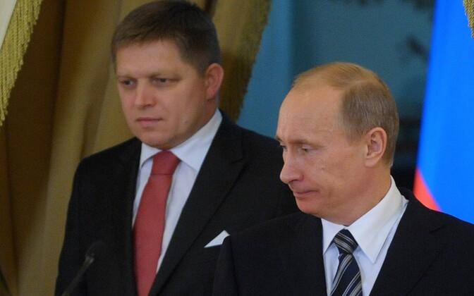 Fico ja Putin 2009. aastal.