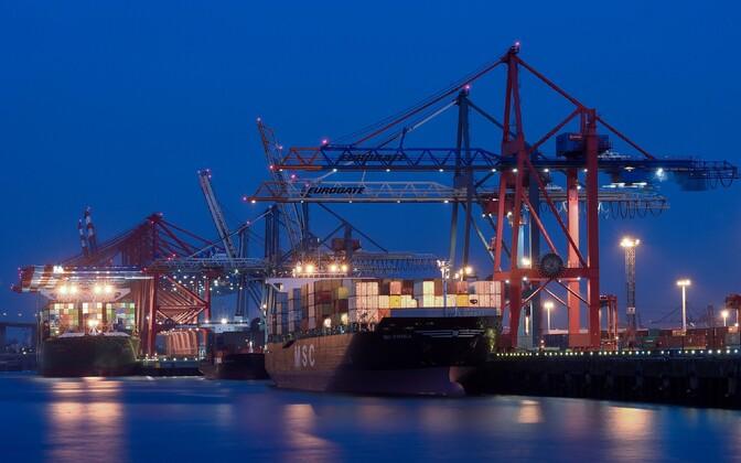 Hamburgi sadam.
