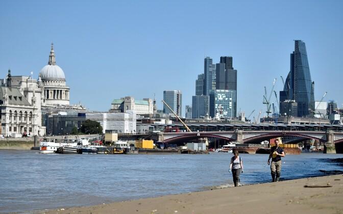 Vaade Londoni kesklinnale.