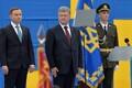 Paraadil oli külaliseks ka Poola president Andrzej Duda (vasakul).