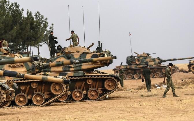 Türgi sõdurid. Illustreeriv foto.