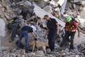 Maavärina tagajärjed Itaalia keskosas.