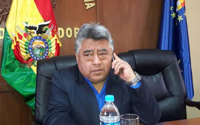 Varasem foto 25. augustil tapetud Boliivia asesiseministrist Rodolfo Illanesist.