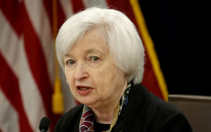 USA föderaalreservi juht Janet Yellen.