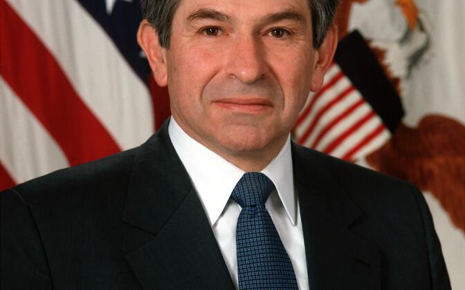 Paul Wolfowitz asekaitseministrina töötamise päevil.