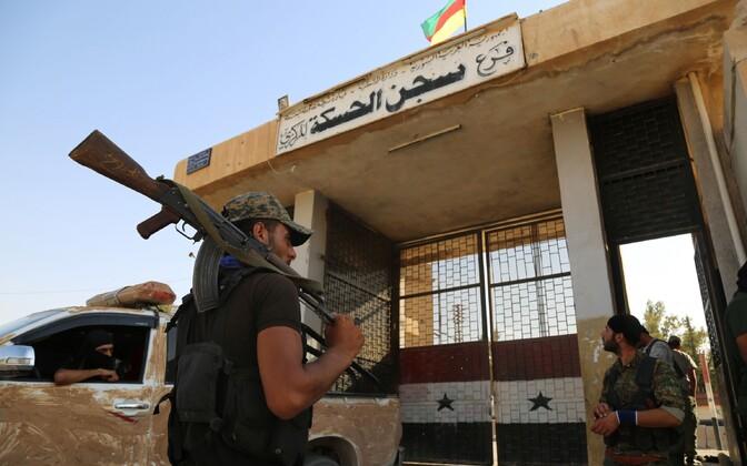 Kurdi võitlejad Süürias.