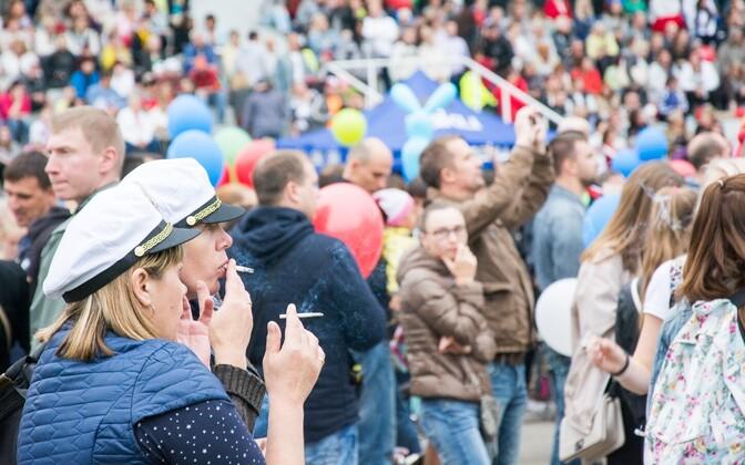 Kõige enam toetavad inimesed suitsetamise piiramist avalikel üritustel nagu kontserdid ja laulupeod.