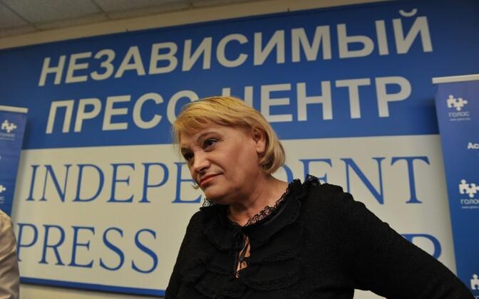 Golos director Liliya Shabanova.