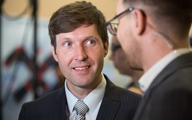 EKRE's candidate for mayor of Tallinn, Martin Helme.