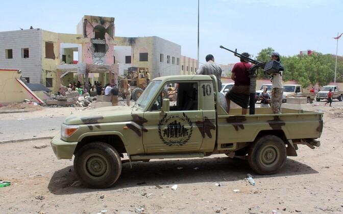 Jeemeni julgeolekujõud.