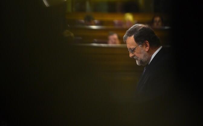 Konservatiivide juht, peaministri kohusetäitja Mariano Rajoy.