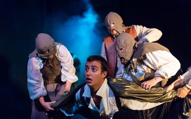 Русский театр Эстонии показал свою новую сказку для детей