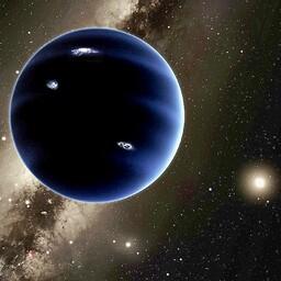 Üheksas planeet kunstniku nägemuses.