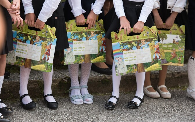 September 1st marked the traditional first day of school for children entering into the first grade across Estonia.