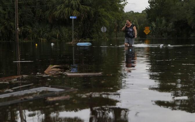 Üleujutused Tampas.