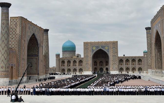 Maeti Usbekistani president Islam Karimov.