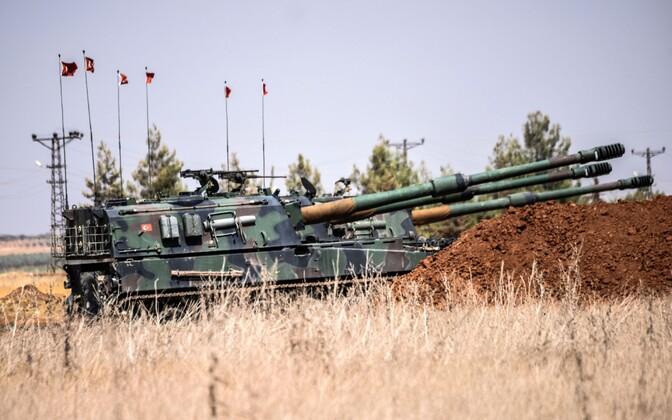 Türgi sõjaväe tank.