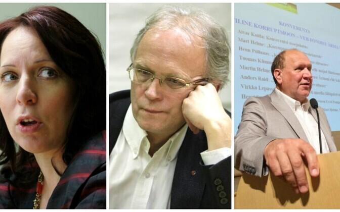 Mailis Reps, Eiki Nestor ja Mart Helme.
