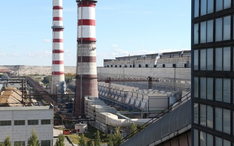 Narva Power Plants in eastern Ida-Viru County.