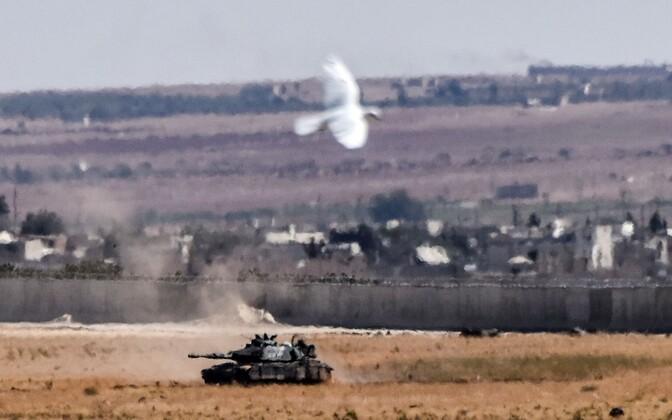 Türgi tank Süürias.