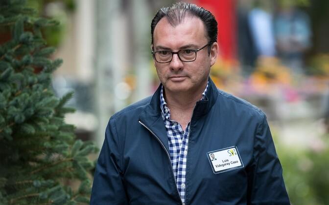 Luis Videgaray astus rahandusministri kohalt tagasi.