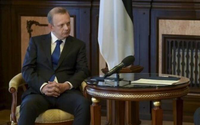 Посол Эстонии в Украине Герт Антсу перейдет на работу в Центр восточного партнерства.