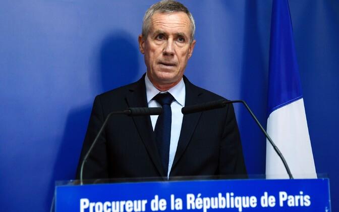 Prokurör Francois Molins pressikonverentsil.