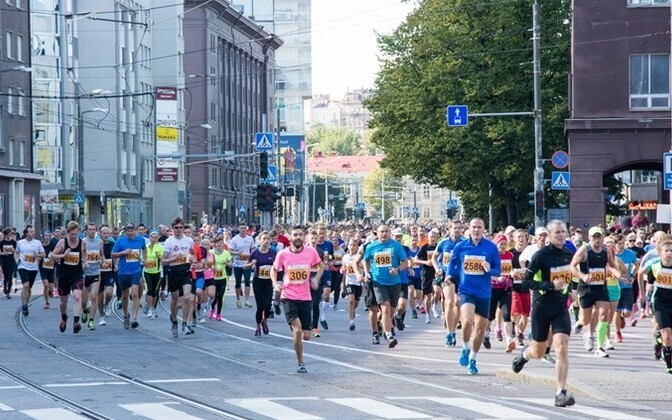 At the 2016 Tallinn Marathon.