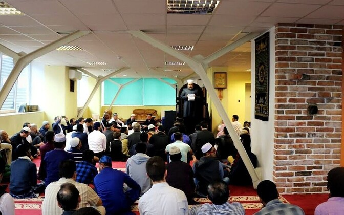 Eid celebrations at the Islamic Center in Tallinn. Sept. 12, 2016.