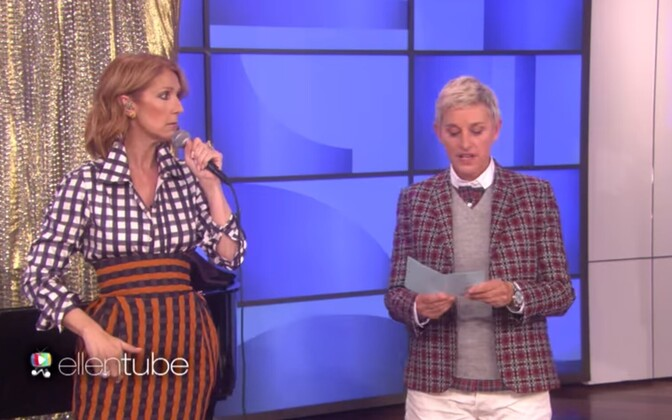 Celine Dion ja Ellen DeGeneres