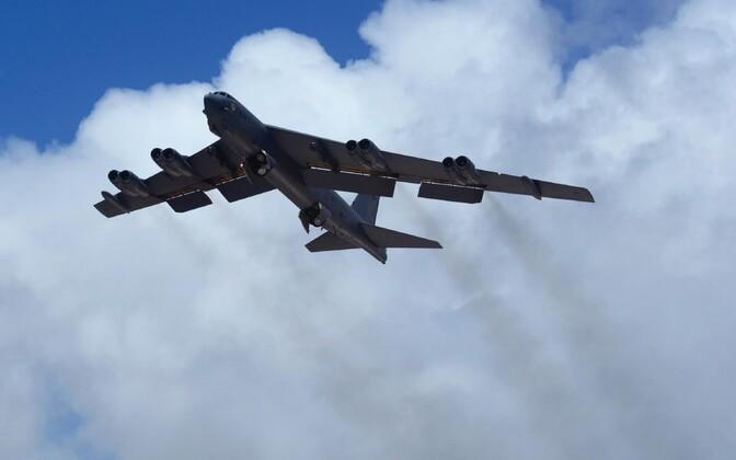USA õhujõudude pommitaja B-52.