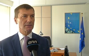 EU commissioner for the digital single market and former prime minister, Andrus Ansip.