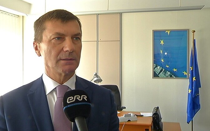 EU commissioner for the digital single market and former prime minister, Andrus Ansip.