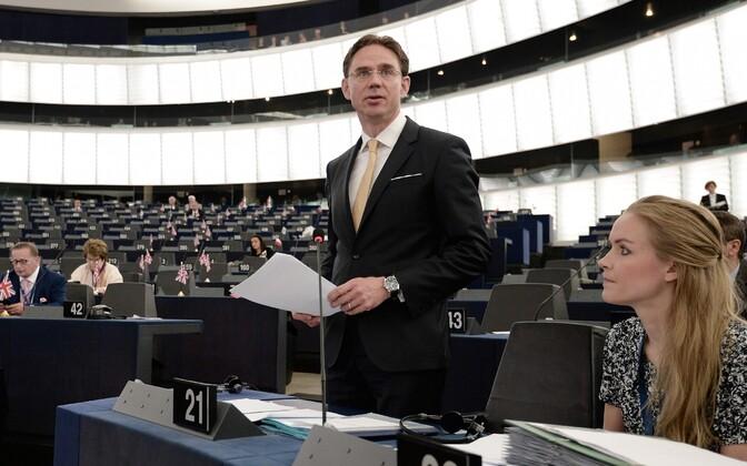 Euroopa Komisjoni asepresident Jyrki Katainen.