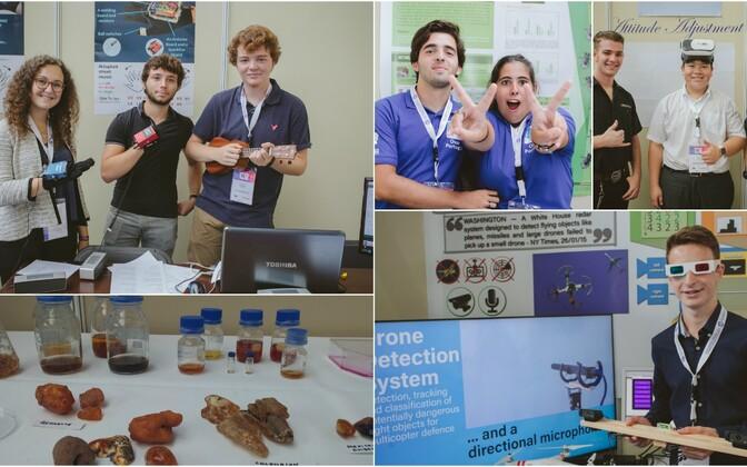 5 jutuainet pakkunud noorte teadlaste tööd Euroopa Liidu noorte teadlaste konkursilt.