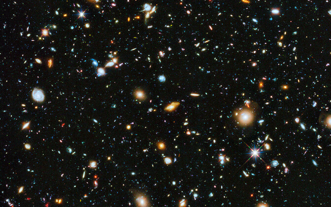 Hubble'i ultrasüvaväli.