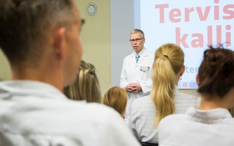Estonian doctors. Photo is illustrative.