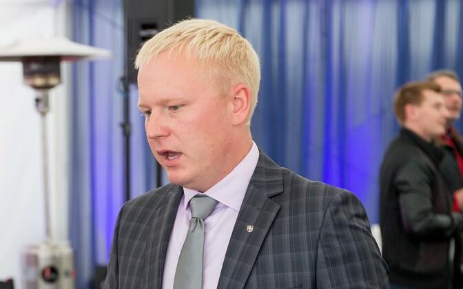 Rae volikogu esimees Agu Laius ja Rae vallavanem Mart Võrklaev.