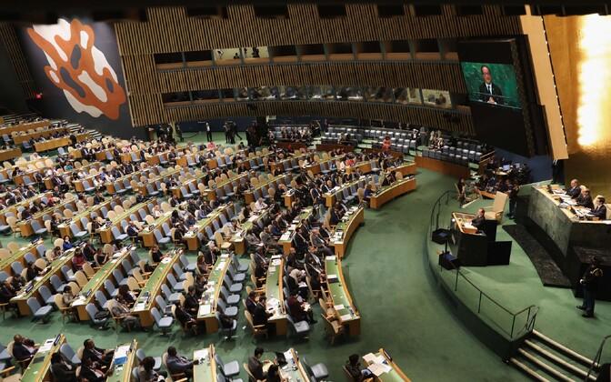 ÜRO Peaassamblee.