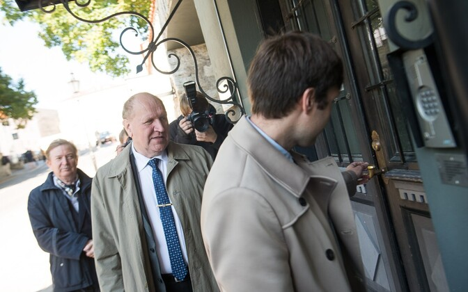 Лидеры партии EKRE - Мартин и Март Хельме