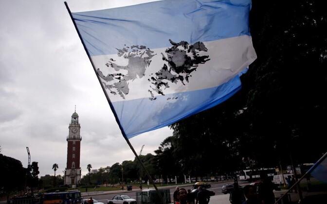 Vaidlusalused saared Argentina lipul