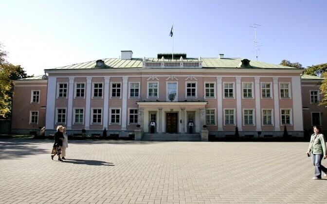Президентский дворец в Кадриорге.