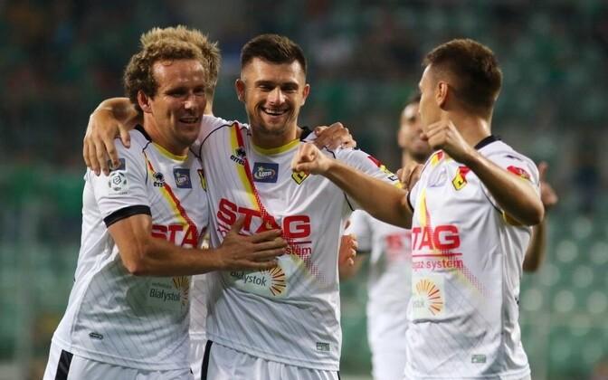 Konstantin Vassiljev koos meeskonnakaaslastega.