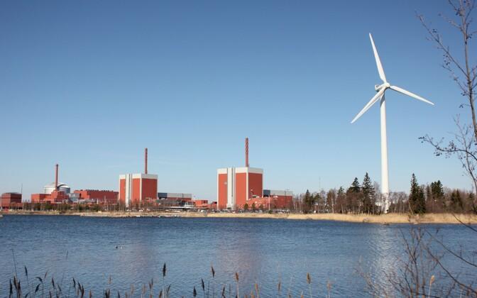 Olkiluoto tuumaelektrijaam 2016. aasta aprillis.