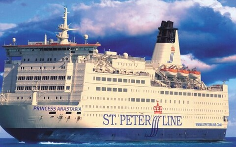 Паром Princess Anastasia компании St. Peter Line.
