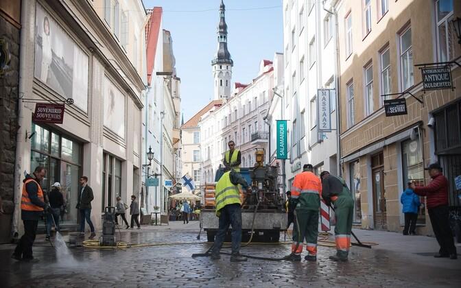Tallinna eelarve koostamiseks töö veel käib.