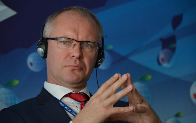 Eesti kaitseminister Hannes Hanso.