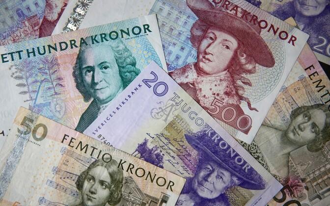 Rootsi kroonid.