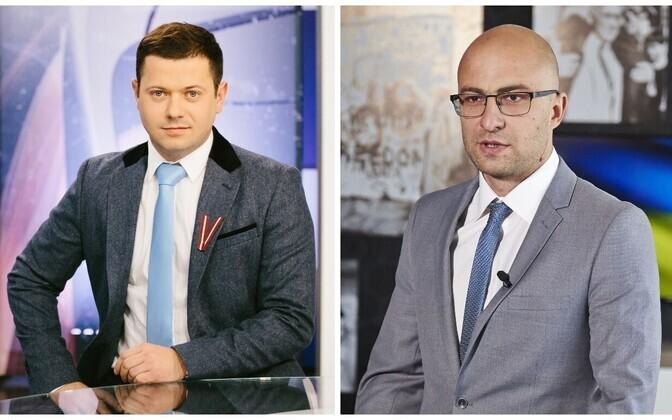 Telesilla saatejuhid Aleksei Dunda ja Dmitri Fefilov.