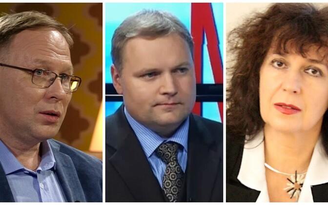 Сергей Степанов, Родион Денисов, Светлана Зайцева.